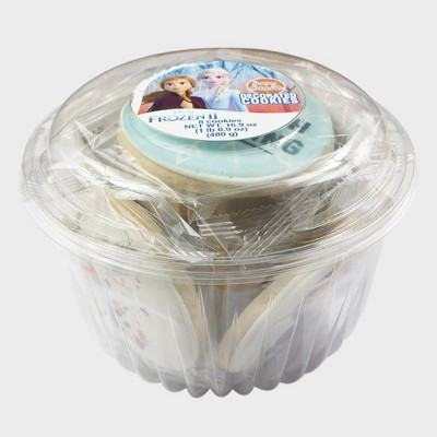 Frozen 2 Decorated Cookie Tub - 8ct