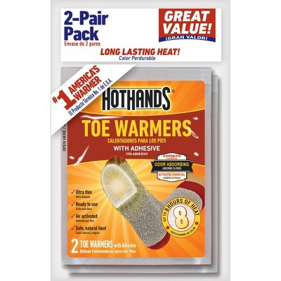 HotHands 2 Pair Toe Warmers