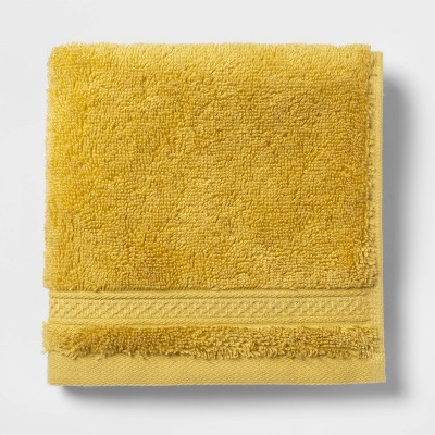 Washcloth Perfectly Fall Yellow - Opalhouse™