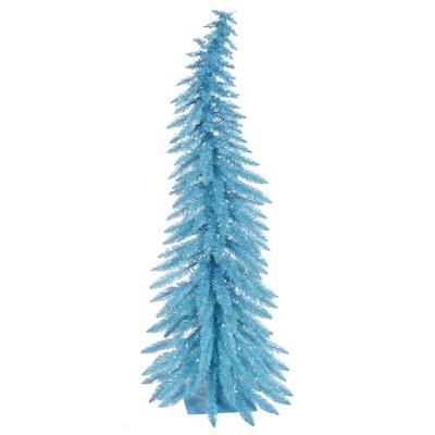 Vickerman Sky Blue Whimsical Artificial Christmas Tree