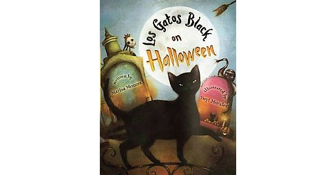 Los Gatos Black on Halloween (Reprint) (Paperback) (Marisa Montes) - image 1 of 1