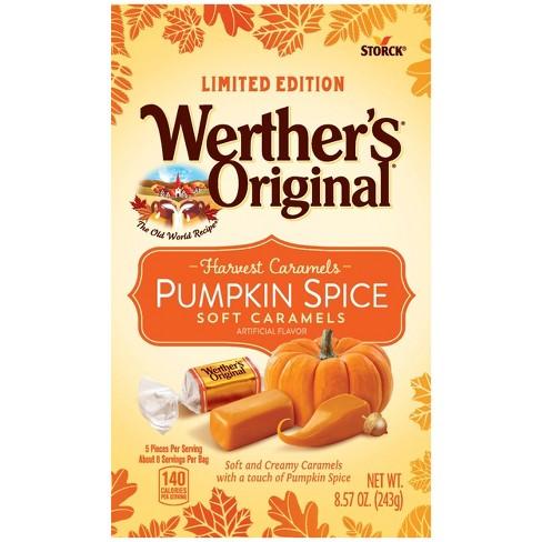 Werther's Halloween Pumpkin Spice Soft Caramels - 8.57oz - image 1 of 4