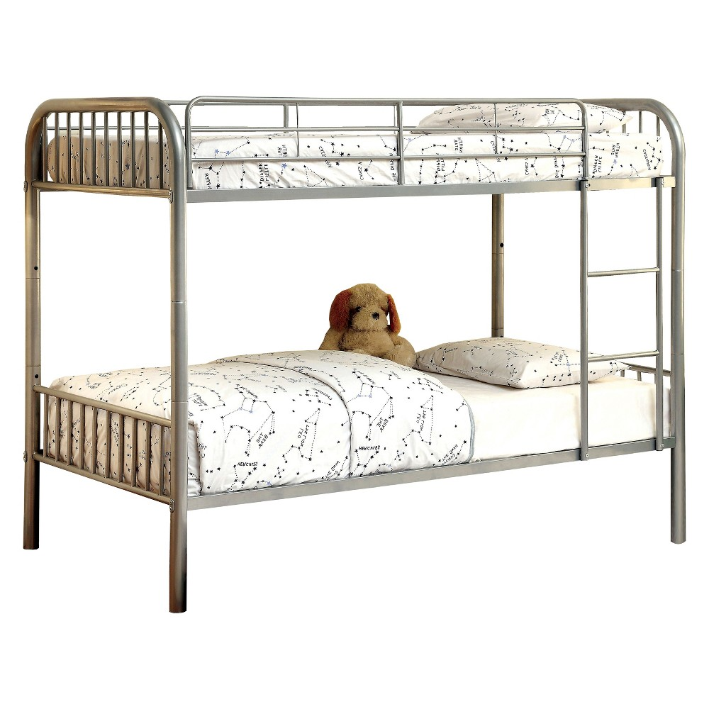 Dunphy Kids Bunk Bed Silver - Homes: Inside + Out