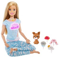 Barbie Breathe With Me Meditation Blonde Doll