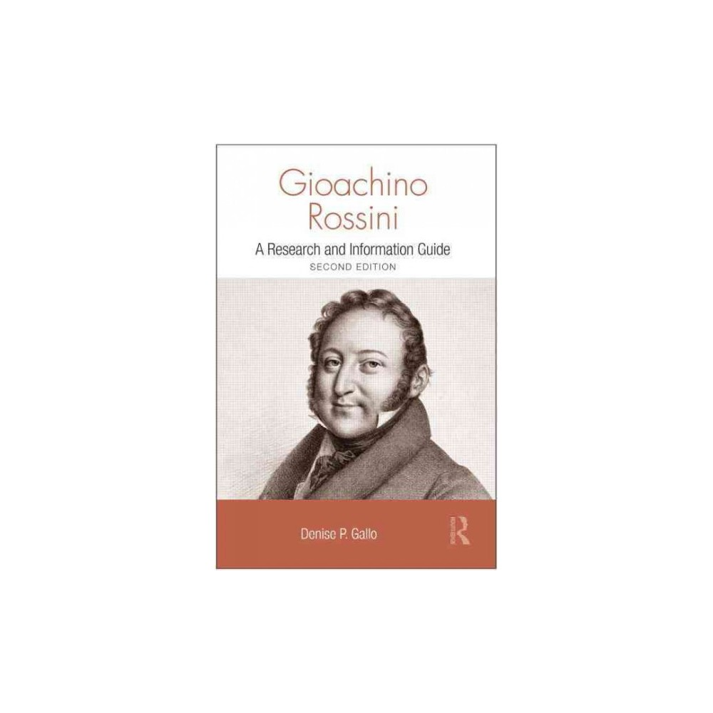 Gioachino Rossini ( Routledge Music Bibliographies) (Revised) (Paperback)