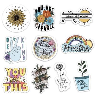 Big Moods Positivity Sticker Pack 10pc