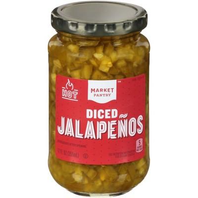 Diced Jalapenos 12oz - Market Pantry™