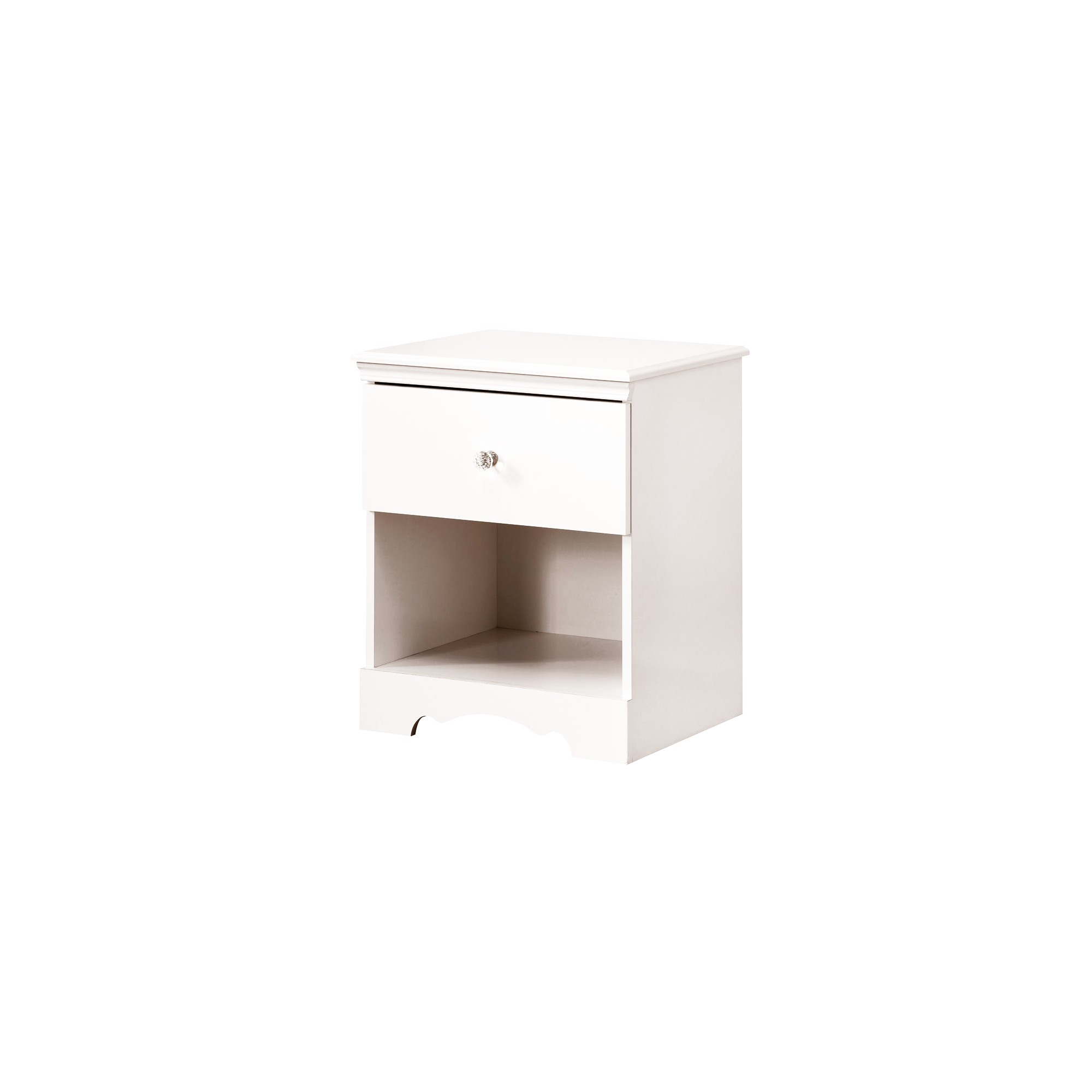Crystal Nightstand White - South Shore