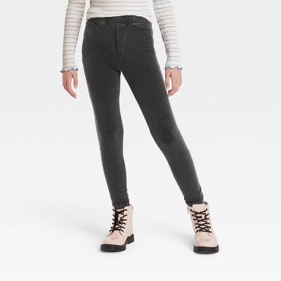 Girls' High Waisted Pocket Leggings - art class™