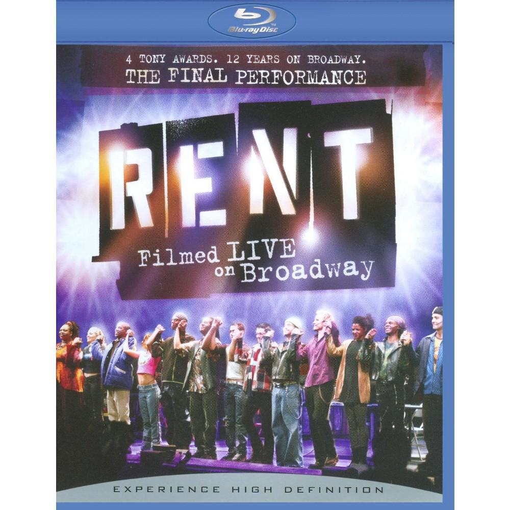 Rent:Filmed live on broadway (Blu-ray)
