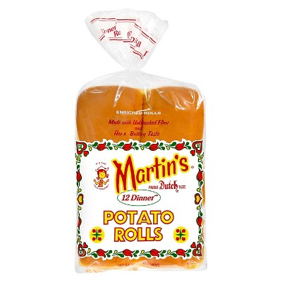 Martin's Potato Dinner Rolls - 15oz/12ct