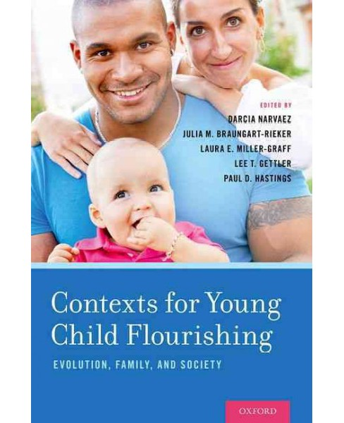 Contexts for Young Child Flourishing : Evolution, Family, and Society (Hardcover) - image 1 of 1