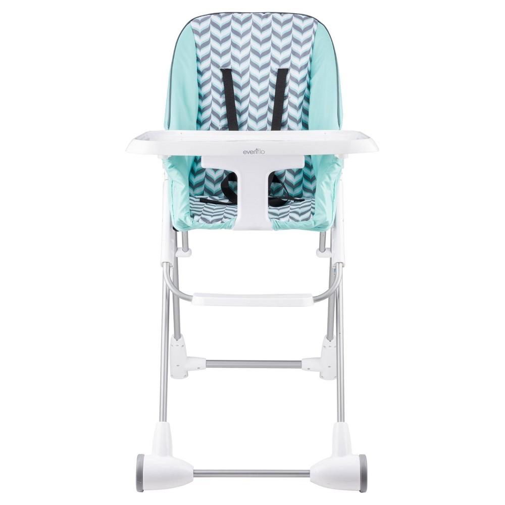 Image of Evenflo Symmetry High Chair Spearmint Spree