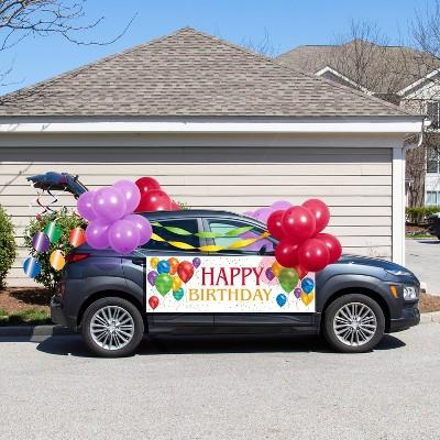 38ct Balloon Blast Birthday Parade Car Decorations Kit