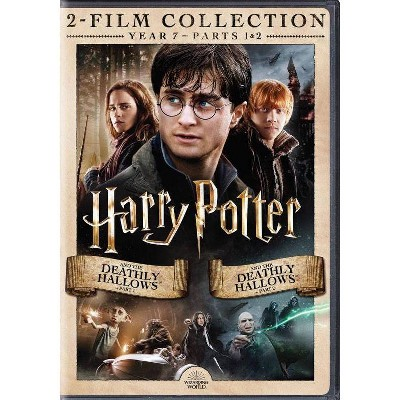 Harry Potter and the Deathly Hallows Part 1 and 2 DBFE (DVD)