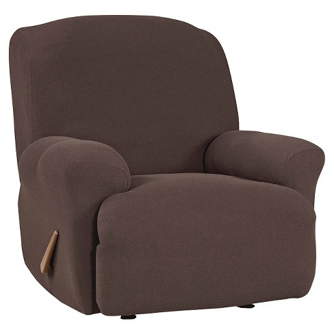 Stretch Twill Recliner Slipcover Sure Fit Target