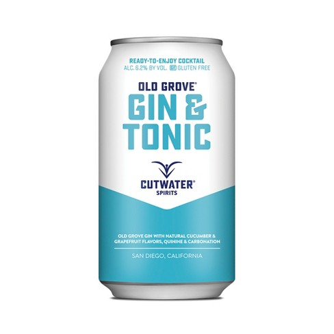 Cutwater Spirits Gin and Tonic - 4pk / 12 fl oz Cans - image 1 of 3