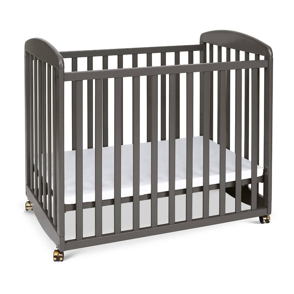 Image of DaVinci Alpha Mini Rocking Crib - Slate, Grey