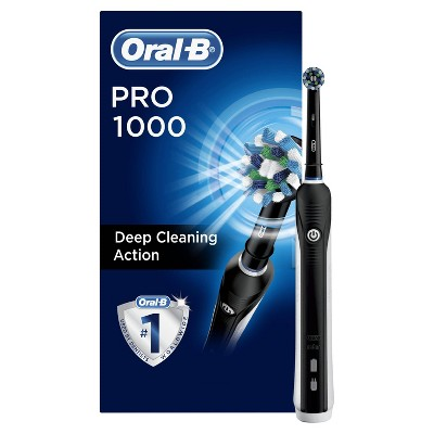 Oral-B Pro Crossaction 1000 Rechargeable Electric Toothbrush