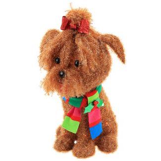 50ct Christmas Incandescent Tinsel Yorkie Dog - Wondershop™