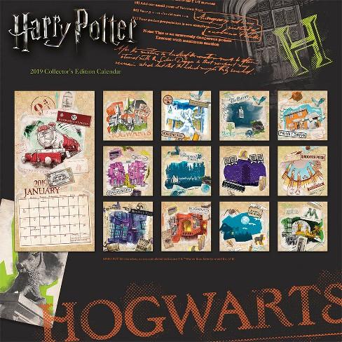 2019 harry potter collectors edition calendar