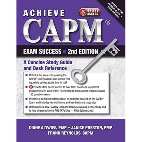 Achieve Capm Exam Success, 2nd Edition - 2 Edition (Paperback) - image 1 of 1