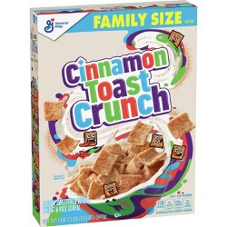 Cinnamon Toast Crunch Breakfast Cereal - 19.3oz - General Mills