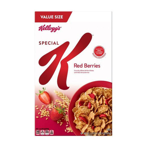 Special K Red Berries Breakfast Cereal - 16.9oz - Kellogg's - image 1 of 6