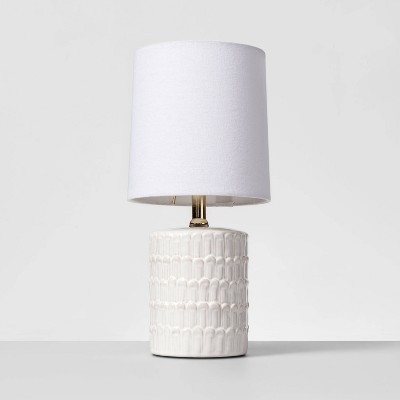 Ceramic Mini Table Lamp White - Opalhouse™