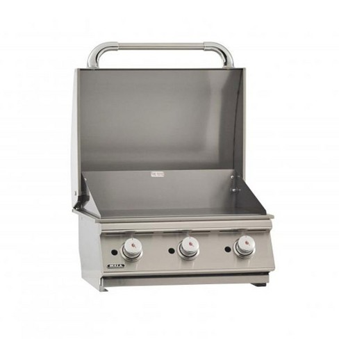 Bull 24 Inch 3 Burner Stainless Steel Barbecue Grill Griddle Liquid Propane