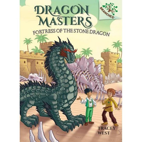 Fortress of the Stone Dragon: A Branches Book (Dragon Masters #17) - by  Tracey West (Hardcover) - image 1 of 1