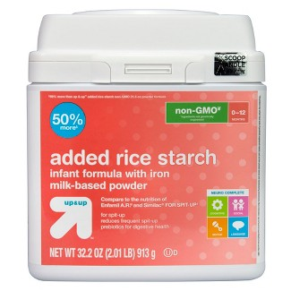 Added Rice Starch Formula Value Size - 32.2oz - Up&Up™