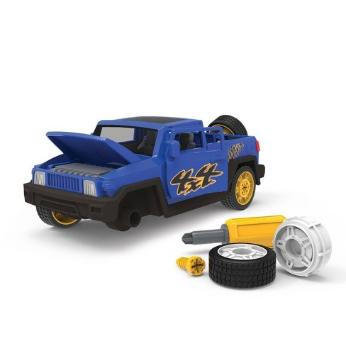 DRIVEN – Toy Car Playset with Tools – Take-Apart SUV - 34pc - Blue - image 1 of 4