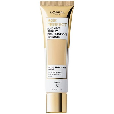 L'Oreal Paris Age Perfect Radiant Serum Foundation with SPF 50 - 1 fl oz