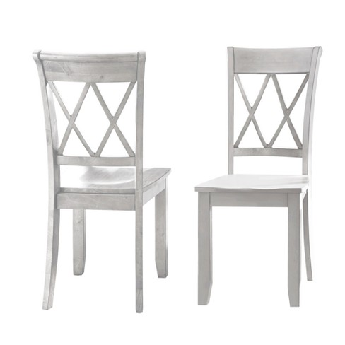 Aida Side Chair Vanilla (Set of 2) - Steve Silver - image 1 of 3