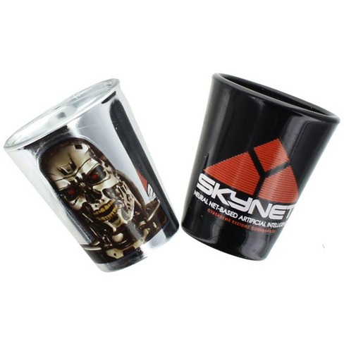 Surreal Entertainment Terminator 2 Shot Glass 2-Pack - image 1 of 1