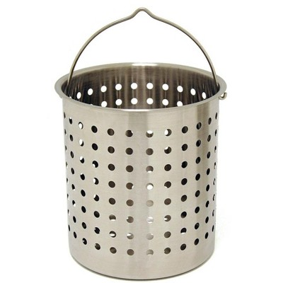 Bayou Classic  Baskets 36 Quart Perforated Stainless Steel Fry Basket B136