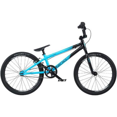 "Radio Cobalt Expert BMX Race Bike - 19.5"" TT, Black/Cyan - image 1 of 1"