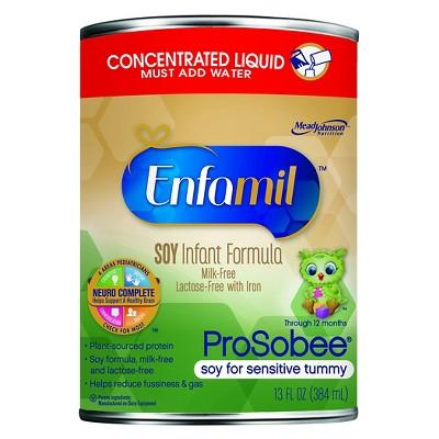 Baby Formula: Enfamil ProSobee