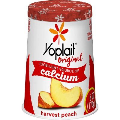 Yoplait Original Harvest Peach Yogurt - 6oz