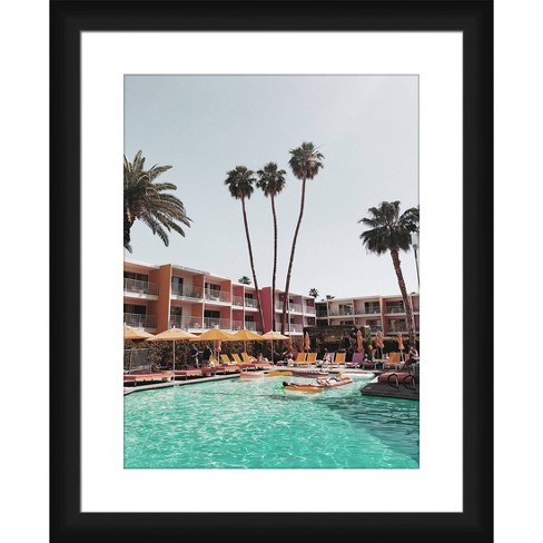 Fun By The Pool Framed and Matted Print - PTM Images - image 1 of 2