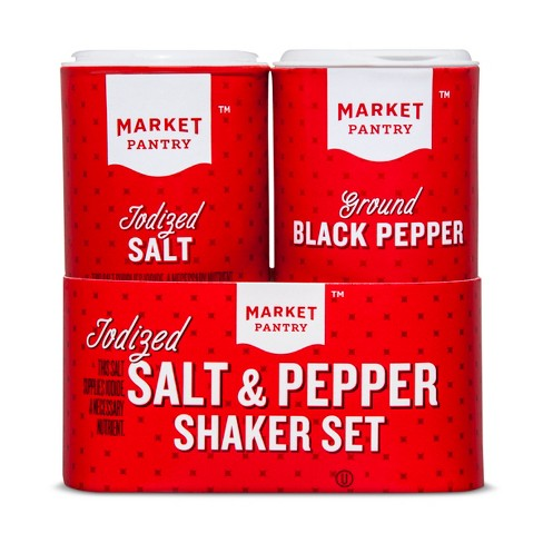Salt & Pepper Shakers - 5oz - Market Pantry™ - image 1 of 1