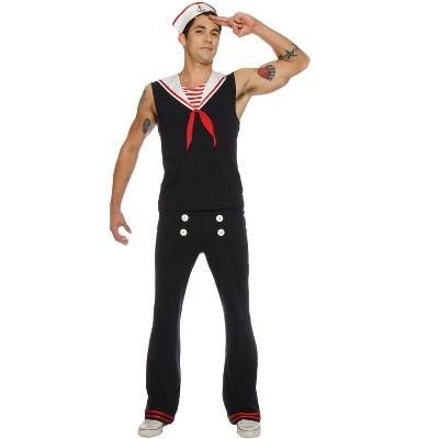 Seeing Red Retro Sailor Adult Costume