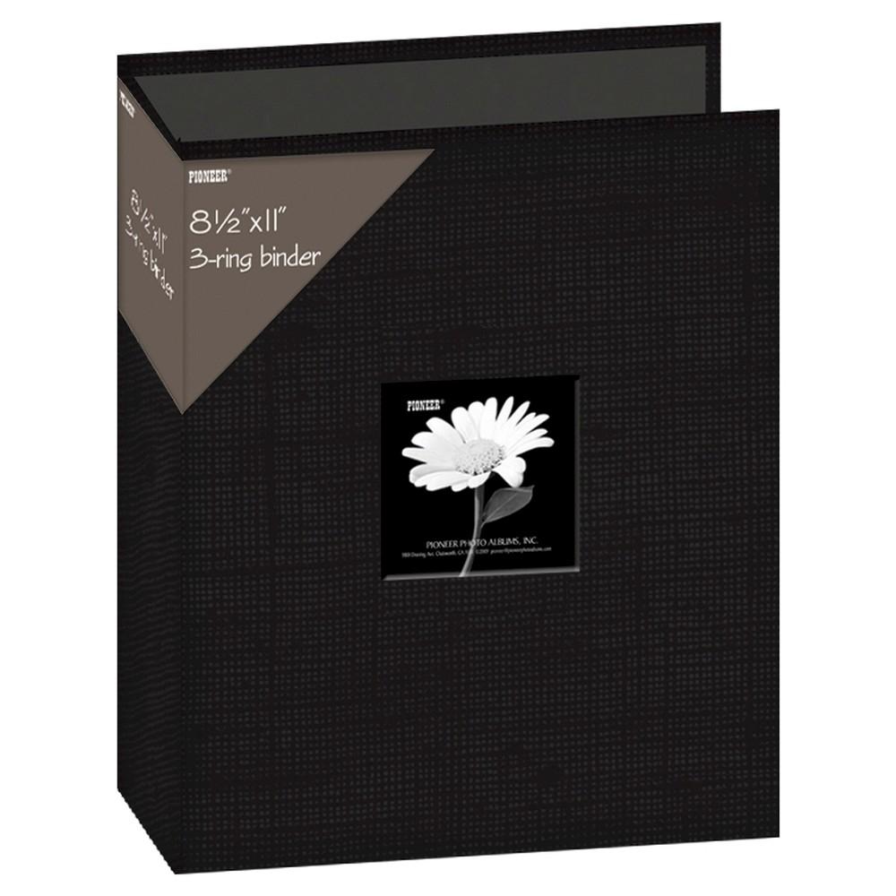 Pioneer 3 - Ring Fabric Album - Black, Multi-Colored