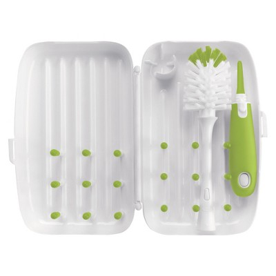 OXO Tot On-the-Go Drying Rack with Brush