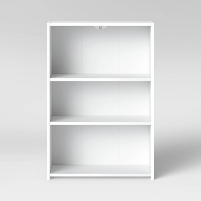 3 Shelf Bookcase White - Room Essentials™