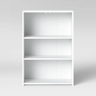 3 Shelf Bookcase White - Room Essentials™