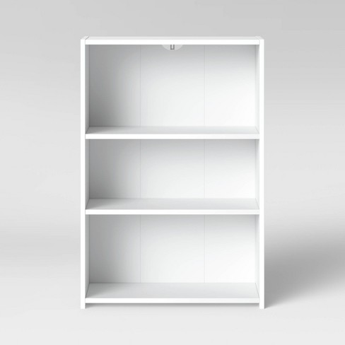 3 Shelf Bookcase White - Room Essentials™ - image 1 of 4