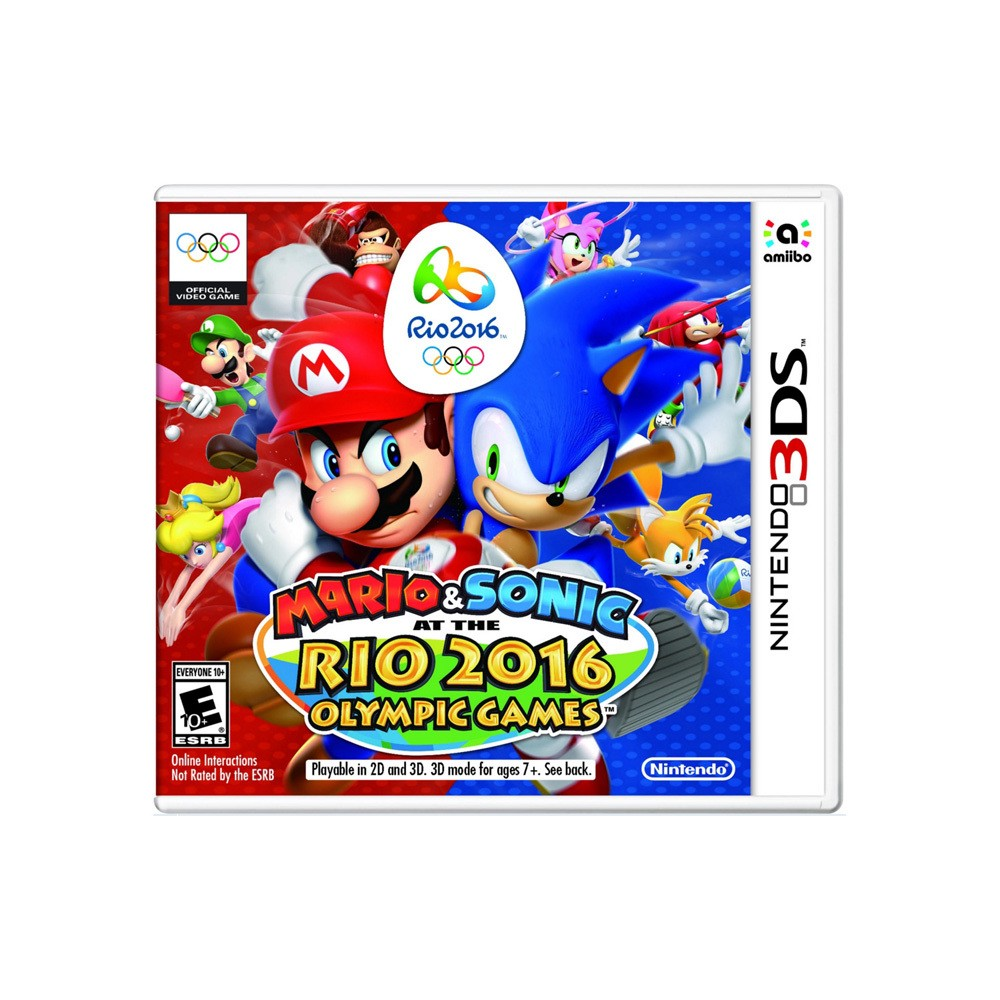 Mario & Sonic: at the Rio 2016 Olympic Games - Nintendo 3DS (Digital)