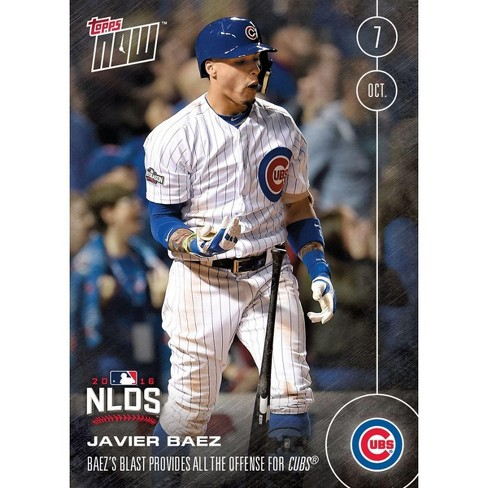 Mlb Chicago Cubs Javier Baez 555 Topps Now Trading Card